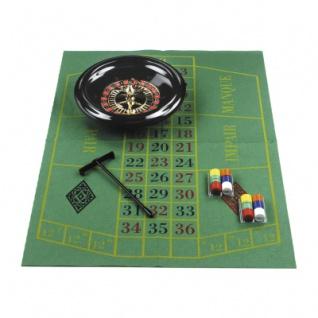 Roulette-Set - 30cm - mit Zubehör