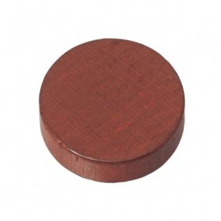 Spielsteine - rund - Holz - braun - 21 x 6 mm - Vorschau 2