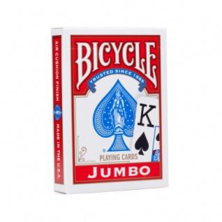 Bicycle Karten - Jumbo Face - großes Bild - Pokerkarten - Papier
