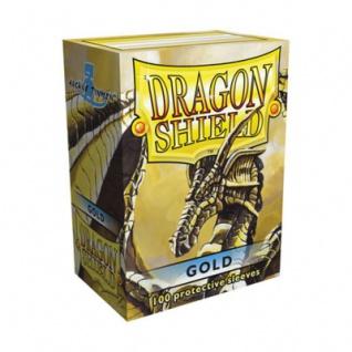 Dragon Shield - Gold - 100 Stück