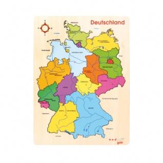 Legepuzzle Deutschland