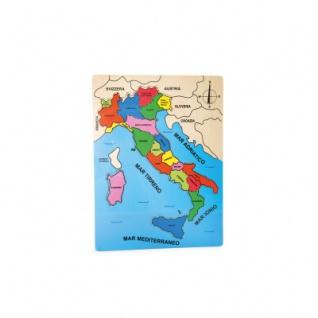 Länderpuzzle Italien