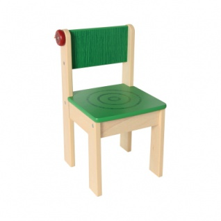 Kinderstuhl - Marienkäfer - grün - 310x310x570mm
