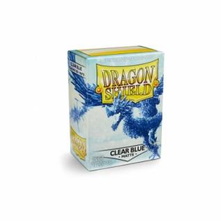 Dragon Shield Matte - Clear Blue (100 Stück) limitiert