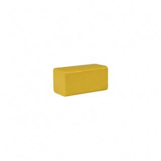 Bauklotz - Rechteck - 50x26x26 mm - gelb