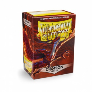 Dragon Shield Matte - Crimson (100 Stück)