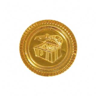 Piratengeld - Goldmünzen - Spielgeld - 33 mm - gold - 100 Stück - Vorschau 4