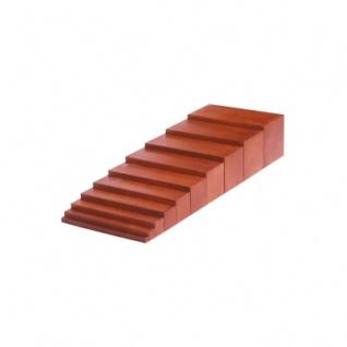Braune Treppe