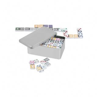 Domino - Doppel 12 mit Metallbox