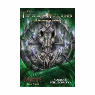 Mythras - Der Tribut der Arakuliner - Ein Abenteuer in Thennla