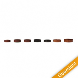 Spielsteine - rund - Holz - braun - 21 x 6 mm - Vorschau 4