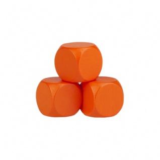 Blankowürfel - 20mm - orange