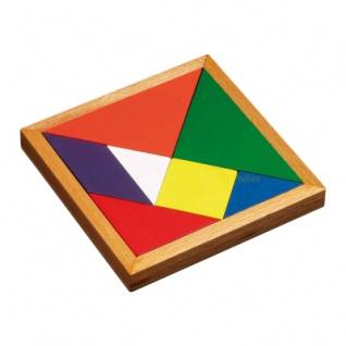 Tangram - 7 Puzzleteile - Denkspiel - Knobelspiel - Geduldspiel