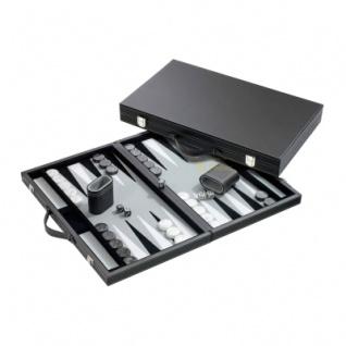 Backgammon - Koffer - Anestis - Kunstleder - groß