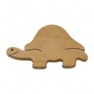 Magnetpin - Schildkröte - Massivholz - 6 cm