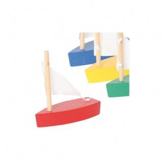 Mini-Segelboot - sortiert