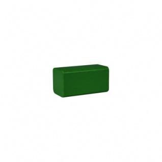 Bauklotz - Rechteck - 50x26x26 mm - grün