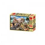 3D Puzzle - 500 Teile - Africa Selfie - Afrika - Tiere
