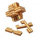 Teuflischer Knoten - 18 Puzzleteile - Denkspiel - Knobelspiel - Geduldspiel