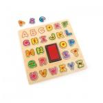 Stempel und Puzzle - ABC