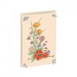 Blumenpresse bunt 24x16cm