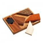 Magic Square 2 - 5 Puzzleteile - Denkspiel - Knobelspiel - Geduldspiel