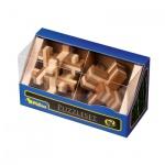 Puzzleset II - Bambus - Level 2 - 3 Stück Knobelspiele