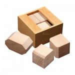 ODD Puzzle - 3 Puzzleteile - Denkspiel - Knobelspiel - Geduldspiel
