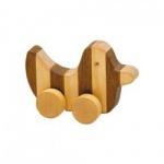 Streifentier - Holzfigur - Ente - 8 cm