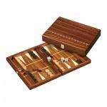 Backgammon - Kassette - Aristomenis - Holz - klein