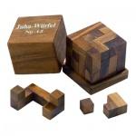 Juha-Würfel 12 - 7 Puzzleteile - Denkspiel - Knobelspiel - Geduldspiel