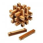 Lock up Puzzle - 18 Puzzleteile - Denkspiel - Knobelspiel - Geduldspiel