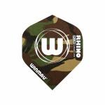 3 x Fly Winmau - Rhino Plus 150 Ultra Thick - Standard Flight - 150 Micron - Camouflage