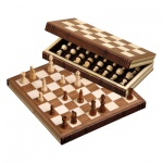 Schachspiel - Reiseschach - Buchform - standard - Breite 30 cm