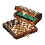 Schachspiel - Reiseschach - magnetisch - klein - Breite 13 cm