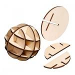 Mars-Puzzle - 12 Puzzleteile - Denkspiel - Knobelspiel - Geduldspiel