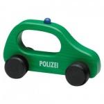 Griffloch - Polizeiauto - aus Holz