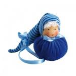 Kugelpüppchen - blau - 11 cm