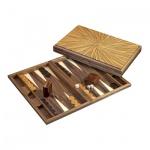Backgammon - Kassette - Kosmas - Holz - gross