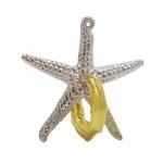 Cast Puzzle Starfish - Metallpuzzle - Level 2