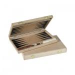 Backgammon - Buche - bedruckt - 28x17 cm