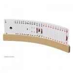 Spielkartenhalter aus Holz - 330 x 35 mm