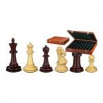 Schachfiguren - Gratianus - Holz - Edel-Staunton - Königshöhe 100 mm