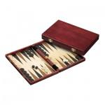 Backgammon - Kassette - Diamantis - Holz - klein