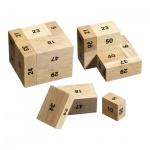 100er Kiste - 9 Puzzleteile - Denkspiel - Knobelspiel - Geduldspiel
