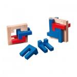 4 L Puzzle - Level 2 - 4 Puzzleteile