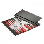 Backgammon - Reisespiel - Lukas - Kunststoff - magnetisch