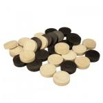 Backgammon-Spielsteine - Ersatz- oder Austauschset - 31 mm