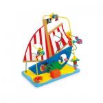 Motorikschleife Piratenschiff