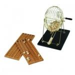 Exklusives Lotto - Bingo Spiel -Set - 75 System
